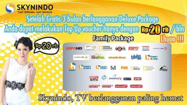 Voucher TV Skynindo Murah Di Java Pulsa
