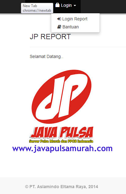web report JAVA PULSA