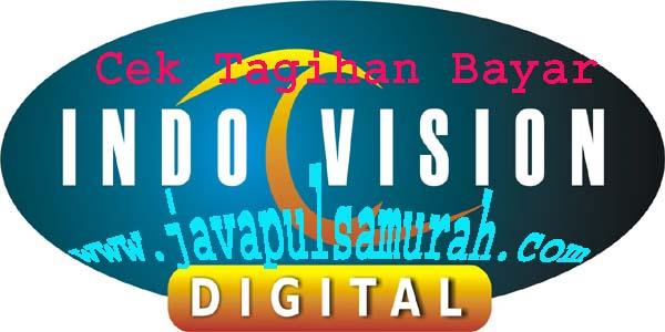 Cara Cek tagihan bayar Indovision Java Pulsa