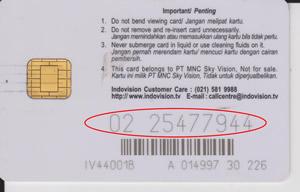 id pelanggan indo vision okevision top tv