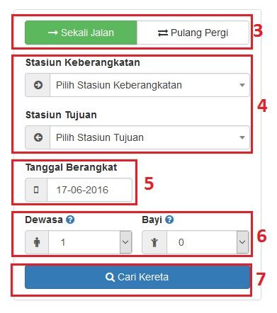 cara transaksi tiket kereta api